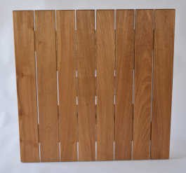 Square 700mm Teak Table Top available to order now!