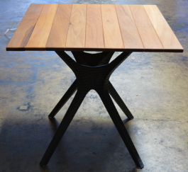 Square 800mm Teak Table Top available to order now!