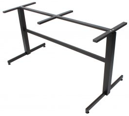 Lisboa 2 way table base 1400mm colour BLACK available to order now!