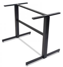Lisboa 2 way table base 900mm colour BLACK available to order now!