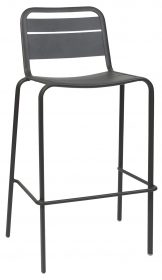 Lambretta outdoor stool 750mm colour ANTHRACITE available to order now!