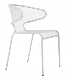 Movida outdoor cafe chair colour WHITE available to order now!
