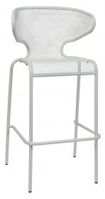 Movida outdoor stool 750mm colour WHITE available to order now!