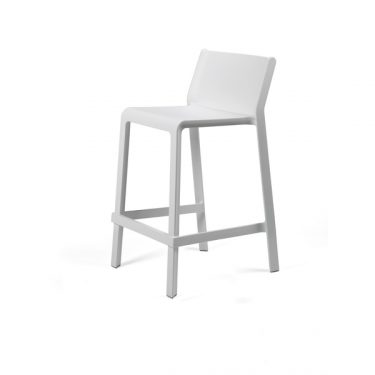 Trill outdoor stool 650mm colour WHITE available to order now!