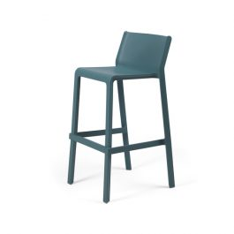 Trill Outdoor Stool 760mm colour TEAL available to order now!