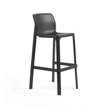 Net Outdoor Stool 760mm colour ANTHRACITE available to order now!