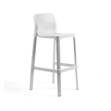Net outdoor stool 760mm colour WHITE available to order now!