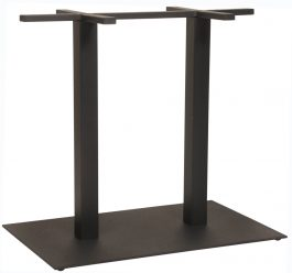 Danube Table Base 800 x 500mm colour BLACK available to order now!