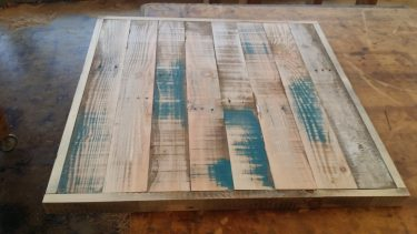 Custom Recycled Timber Table Top 600mm available to order now!