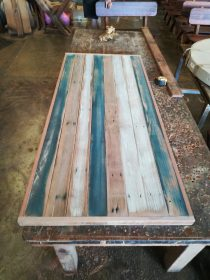 Custom Recycled Timber Table Top available to order now!