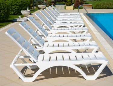 Aqua Sun Lounge colour WHITE available to order now!