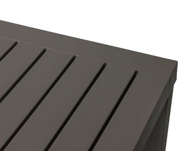 Cube Outdoor Table 1400 x 800mm colour ANTHRACITE available to order now!