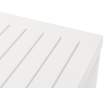Cube Outdoor Table 1400 x 800mm colour WHITE available to order now!