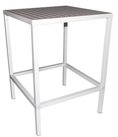 Cube Outdoor Bar Table colour WHITE available to order now!