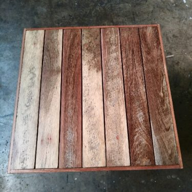 Recycled Timber Table Top 600mm available to order now!