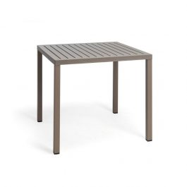 Cube outdoor table colour TAUPE available to order now!