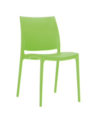 Maya Outdoor Café Chair colour GREEN available to order now!