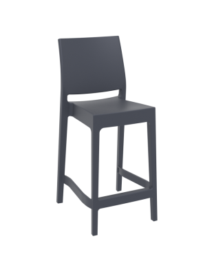 Maya Outdoor Stool 650mm colour ANTHRACITE available to order now!