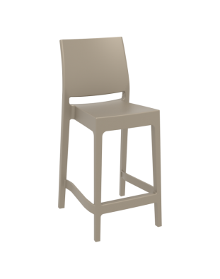 Maya Outdoor Stool 650mm colour TAUPE available to order now!