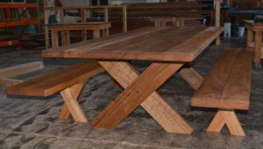 Kirra XL 2950 Teak Outdoor Timber Setting available to order now!