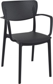 Loft Outdoor Café Chair colour BLACK available to order now!