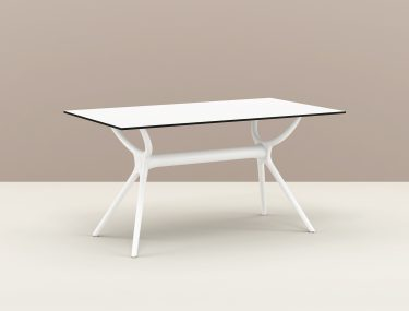 Air Outdoor Table 1400 colour WHITE available to order now!