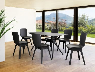 Air Outdoor Table 1400 colour BLACK available to order now!