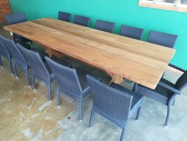 Rectangular Kirra XL 2950mm Teak Outdoor Timber Table available to order now!