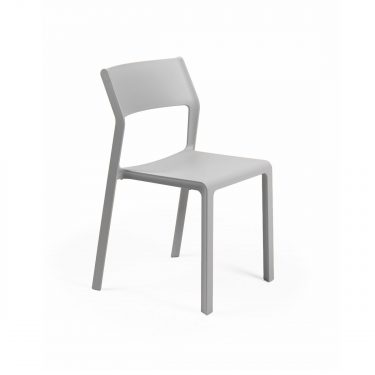 Trill Outdoor Café Chair colour LIGHT GREY available to order now!