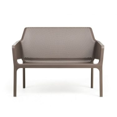 Net Relax Outdoor Bench colour TAUPE available to order now!