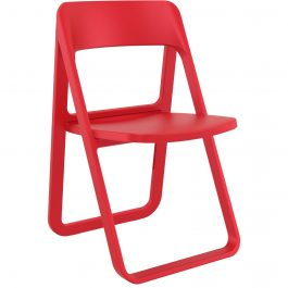 Dream Outdoor Folding Chair colour RED available to order now!
