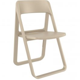 Dream Outdoor Folding Chair colour TAUPE available to order now!