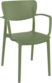 Loft Outdoor Café Chair colour GREEN available to order now!