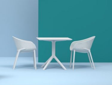 Sky Outdoor Arm Chair colour WHITE available to order now!