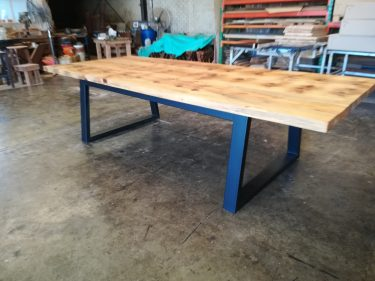 Les Silky Oak Table in SILKY OAK timber available to order now!