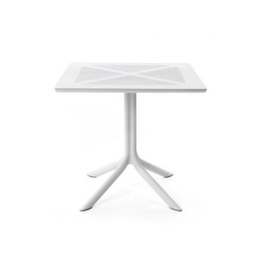 Clipx Outdoor Table 800 colour WHITE available to order now!