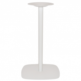 Arc Bar Table Base 540mm colour WHITE available to order now!