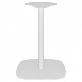 Arc Table Base 540mm colour WHITE available to order now!