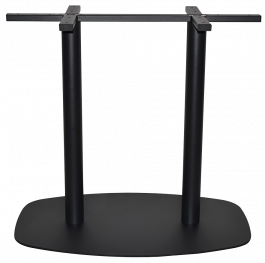 Arc Table Base 800 x 500mm colour BLACK available to order now!