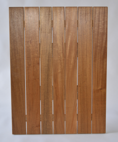 Rectangular 800 x 600mm Teak Timber Table Top available to order now!
