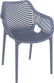 Air Outdoor Arm Chair colour ANTHRACITE available to order now!