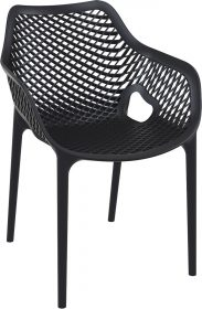 Air Outdoor Arm Chair colour BLACK available to order now!