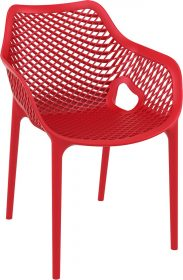 Air Outdoor Arm Chair colour RED available to order now!