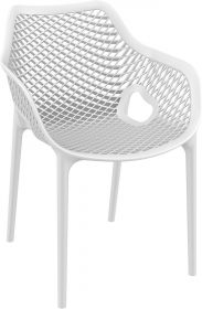 Air Outdoor Arm Chair colour WHITE available to order now!