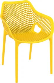 Air Outdoor Arm Chair colour YELLOW available to order now!
