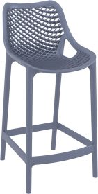 Air Outdoor Stool 650mm colour ANTHRACITE available to order now!