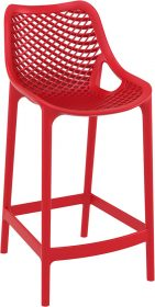 Air Outdoor Stool 650mm colour RED available to order now!