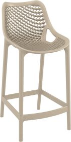 Air Outdoor Stool 650mm colour TAUPE available to order now!