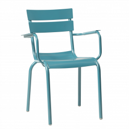 Porto Outdoor Arm Chair colour BLUE available to order now!