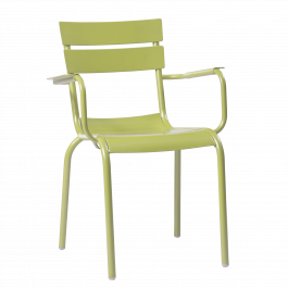 Porto Outdoor Arm Chair colour GREEN available to order now!